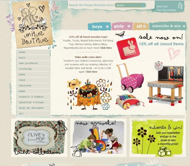 открыть интернет магазин детской одежды